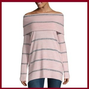 a.n.a. Woman's Long Sleeve Knit Blouse / Sweater